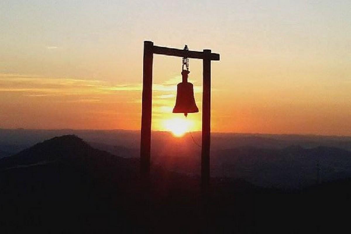 Pôr do Sol visto da Igreja da Soledade - Foto: Davin Guimaraes - Sabará - Minas Gerais