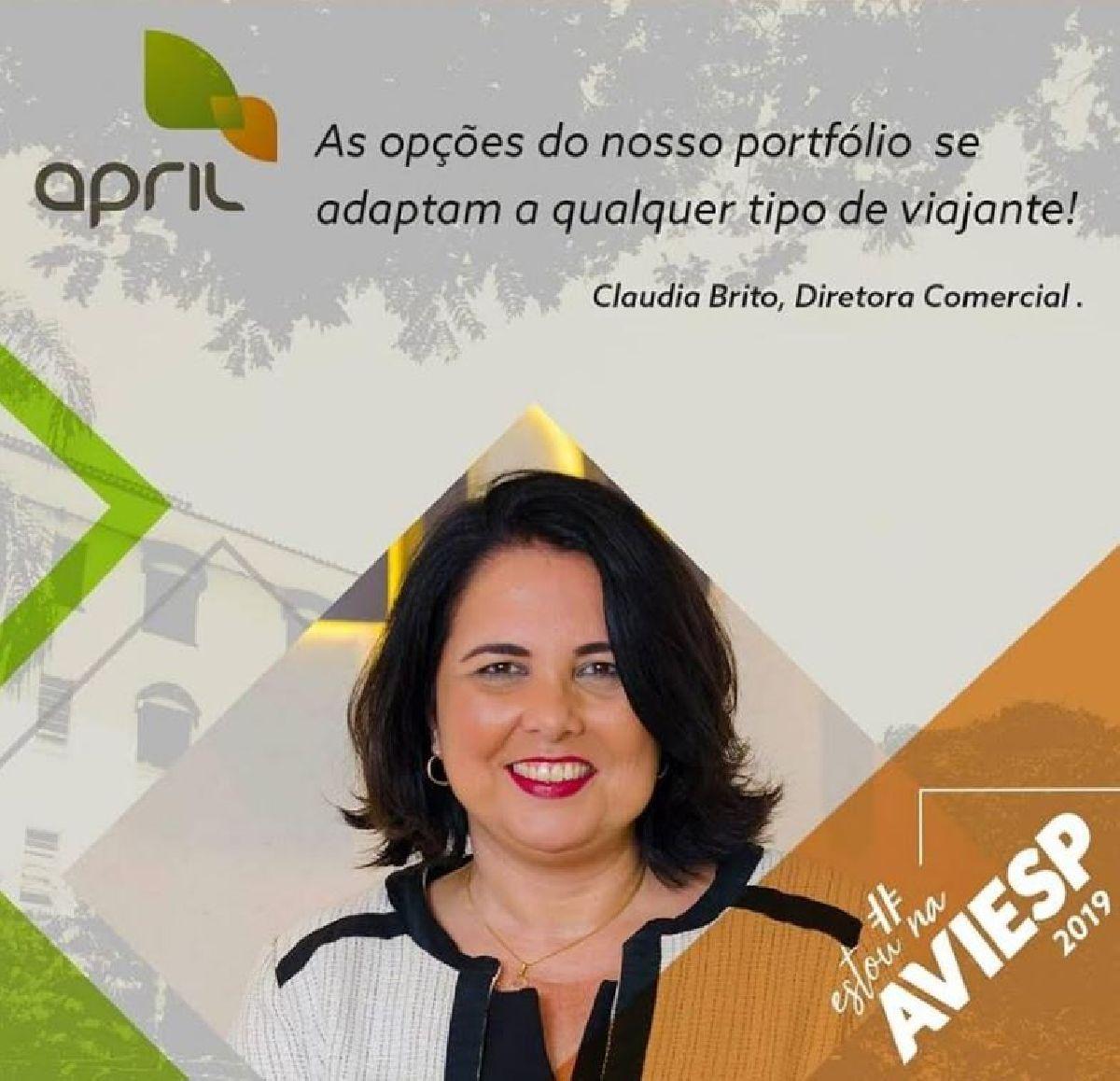 AVIESP 2019: APRIL BRASIL SEGURO VIAGEM QUER CRESCER 15% ESTE ANO