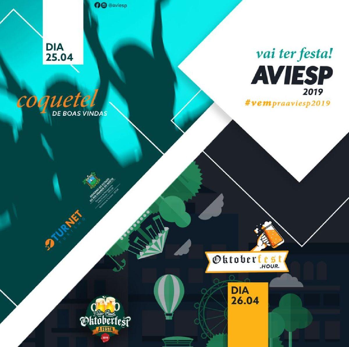 CONHEÇA OS EXPOSITORES DA AVIESP 2019
