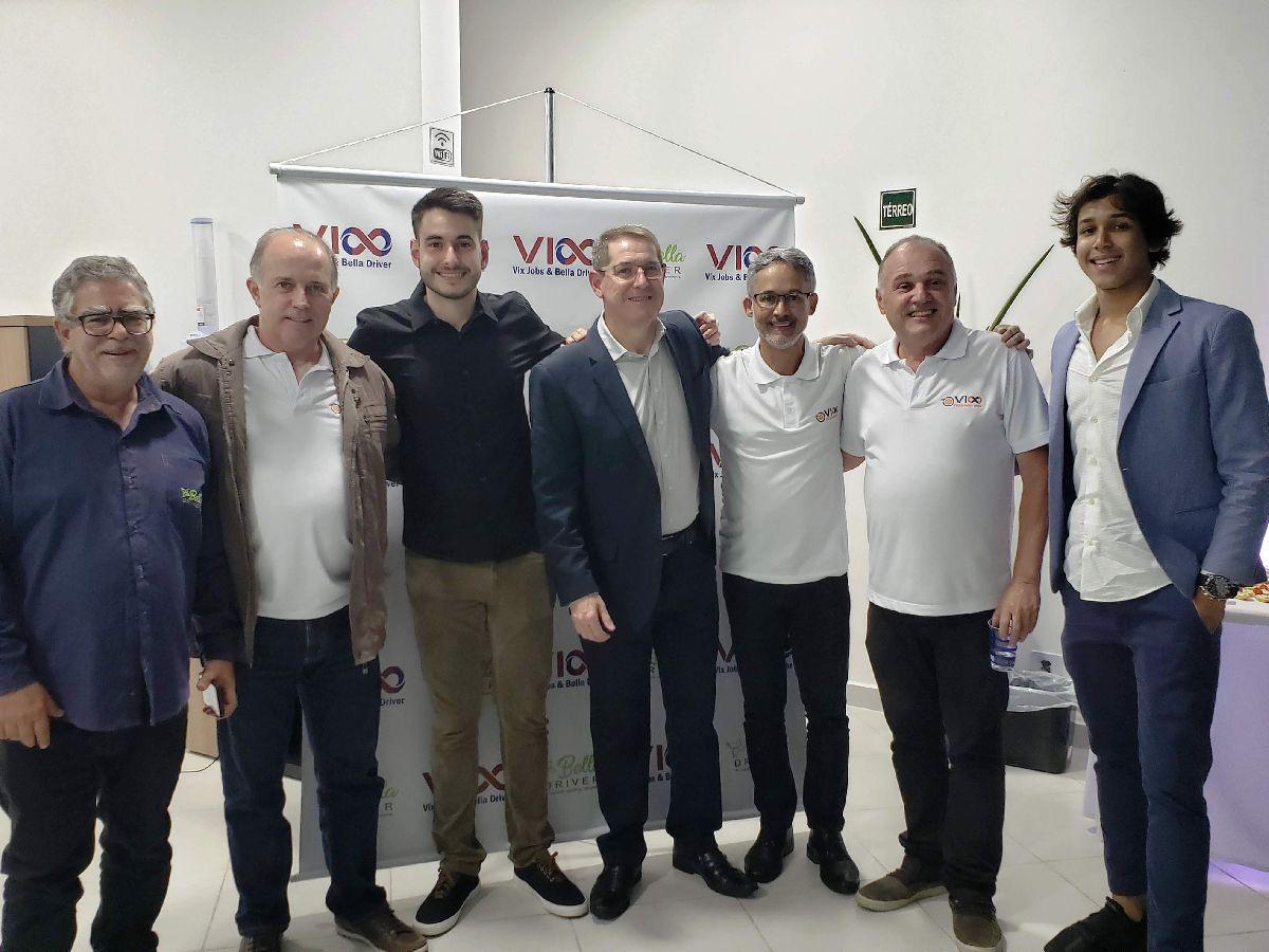 VIX JOBS BELLA DRIVER REALIZA LANÇAMENTO OFICIAL EM SANTOS