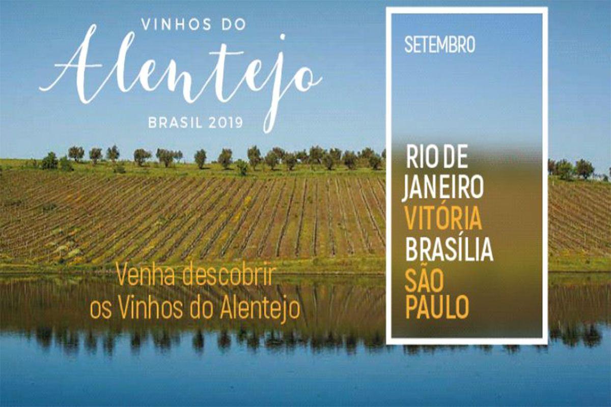 VINHOS DO ALENTEJO APRESENTA WINE FESTIVAL EM SÃO PAULO