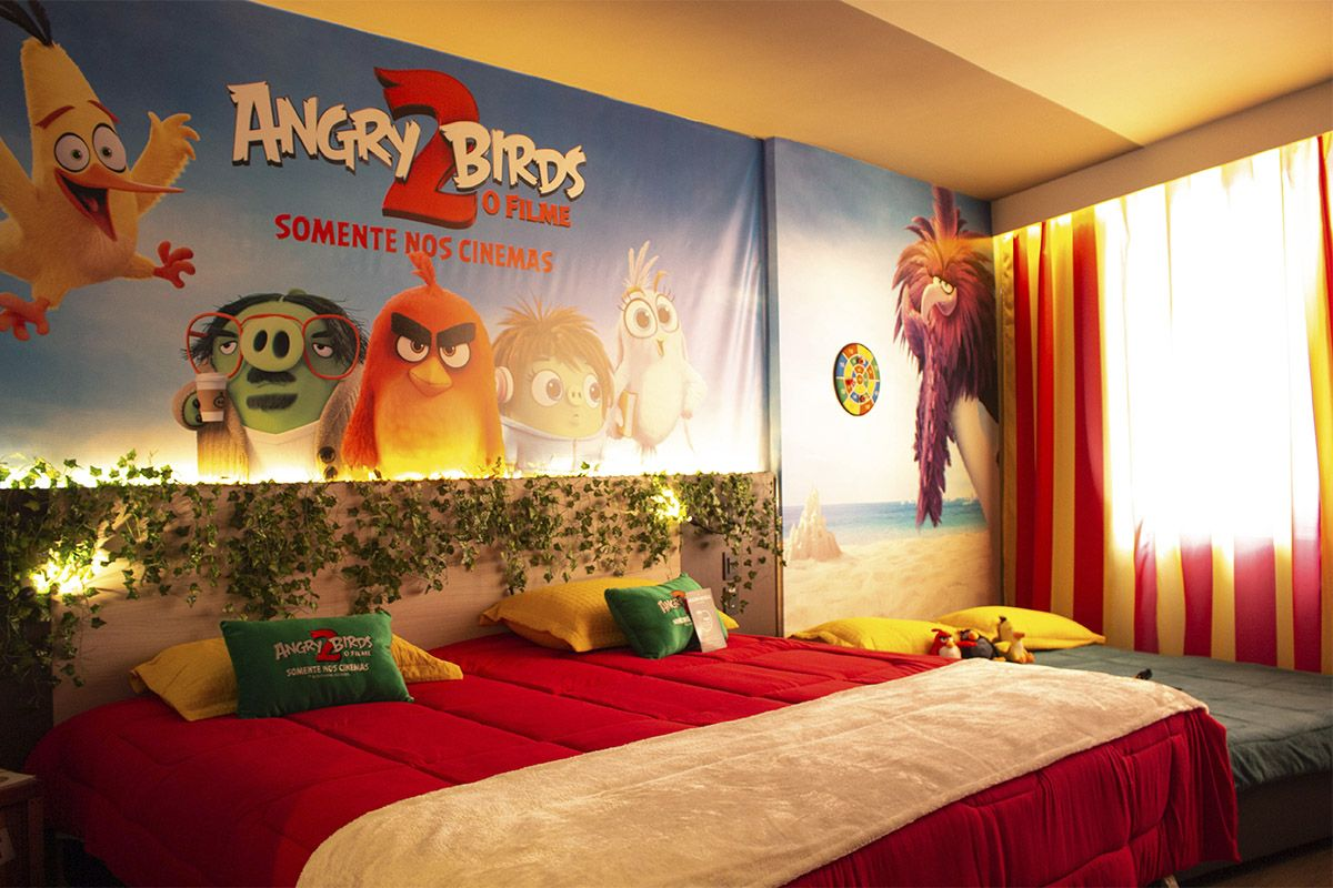 VENHA SE AVENTURAR NO NOVO QUARTO ANGRY BIRDS 2 NO NOVOTEL ITU GOLF & RESORTS