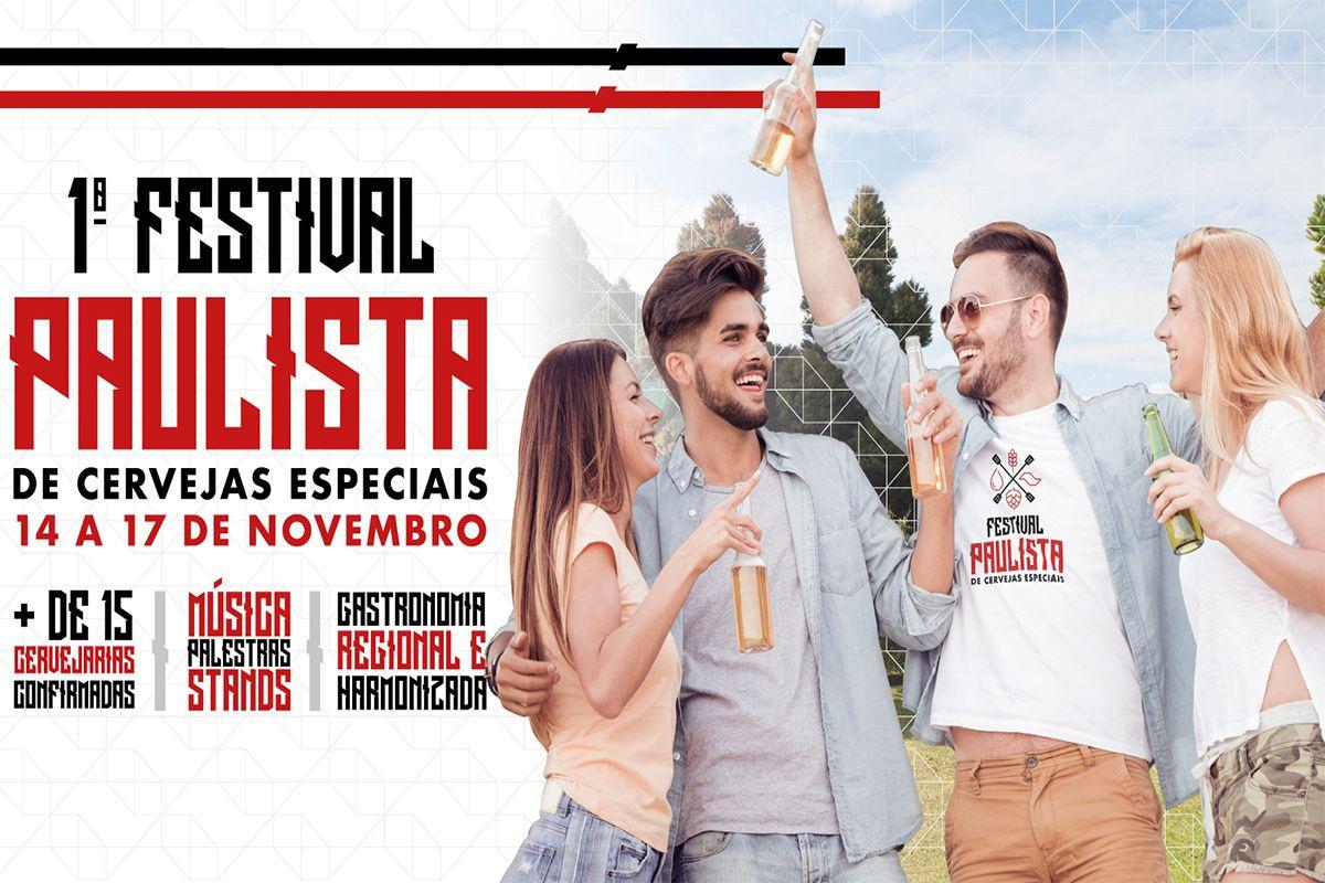 SÃO PAULO ESTARÁ PRESENTE NO 1º FESTIVAL PAULISTA DE CERVEJAS ESPECIAIS COM A CERVEJARIA PERRO LIBRE