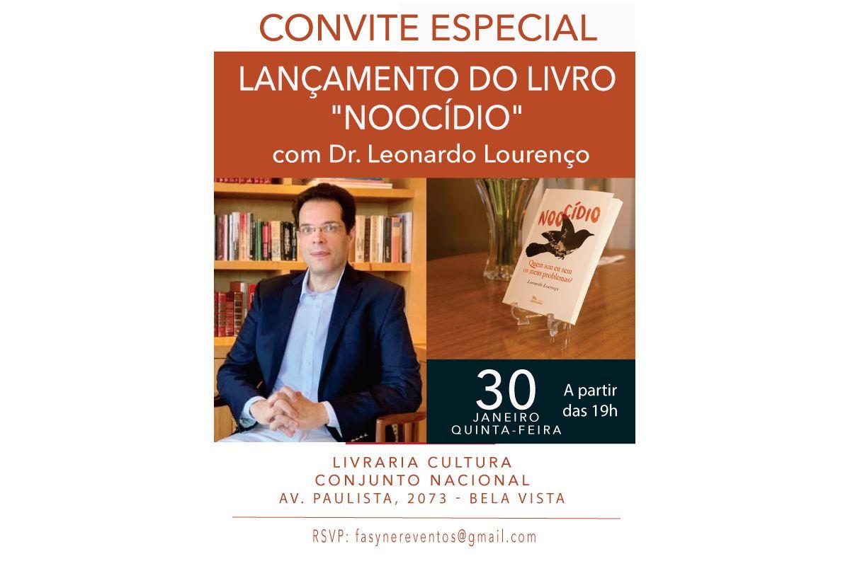 LIVRO NOOCÍDIO ESCRITO PELO  DR LEONARDO LOURENÇO , MOSTRA QUE AS VERDADEIRAS TRANSFORMAÇÕES COMEÇAM NA MENTE