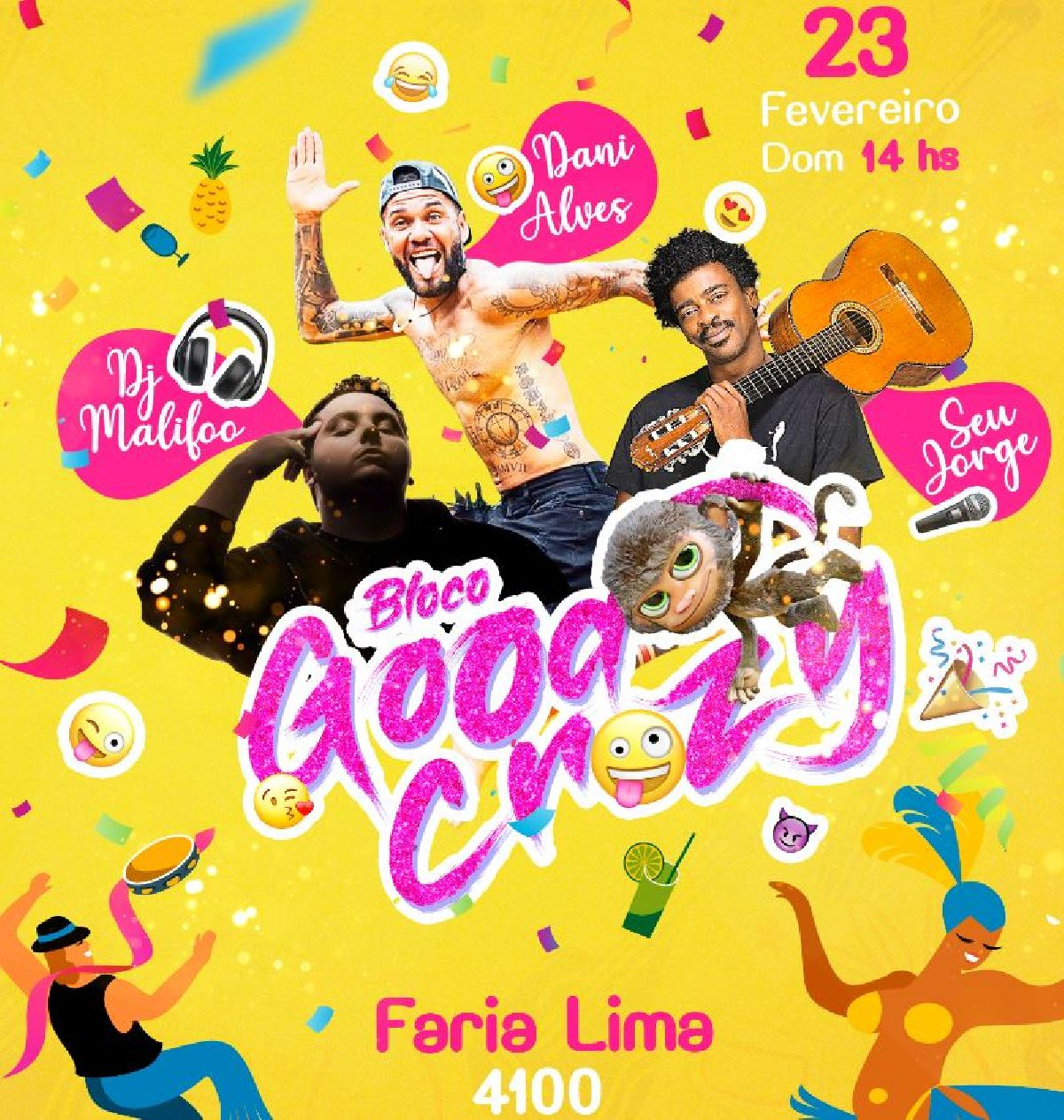 CARNAVAL 2020: BLOCO GOOD CRAZY