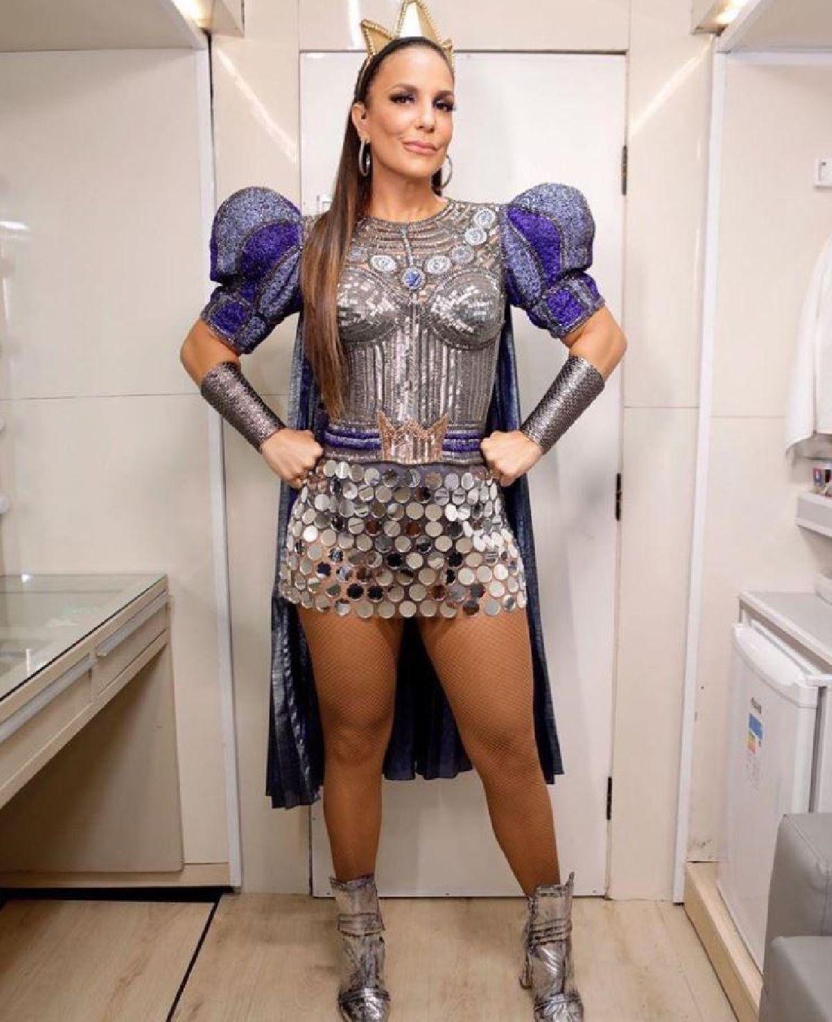 IVETE SANGALO É ELEITA RAINHA DE CLASH ROYALE EM AÇÃO DA NBS NO CARNAVAL DE SALVADOR