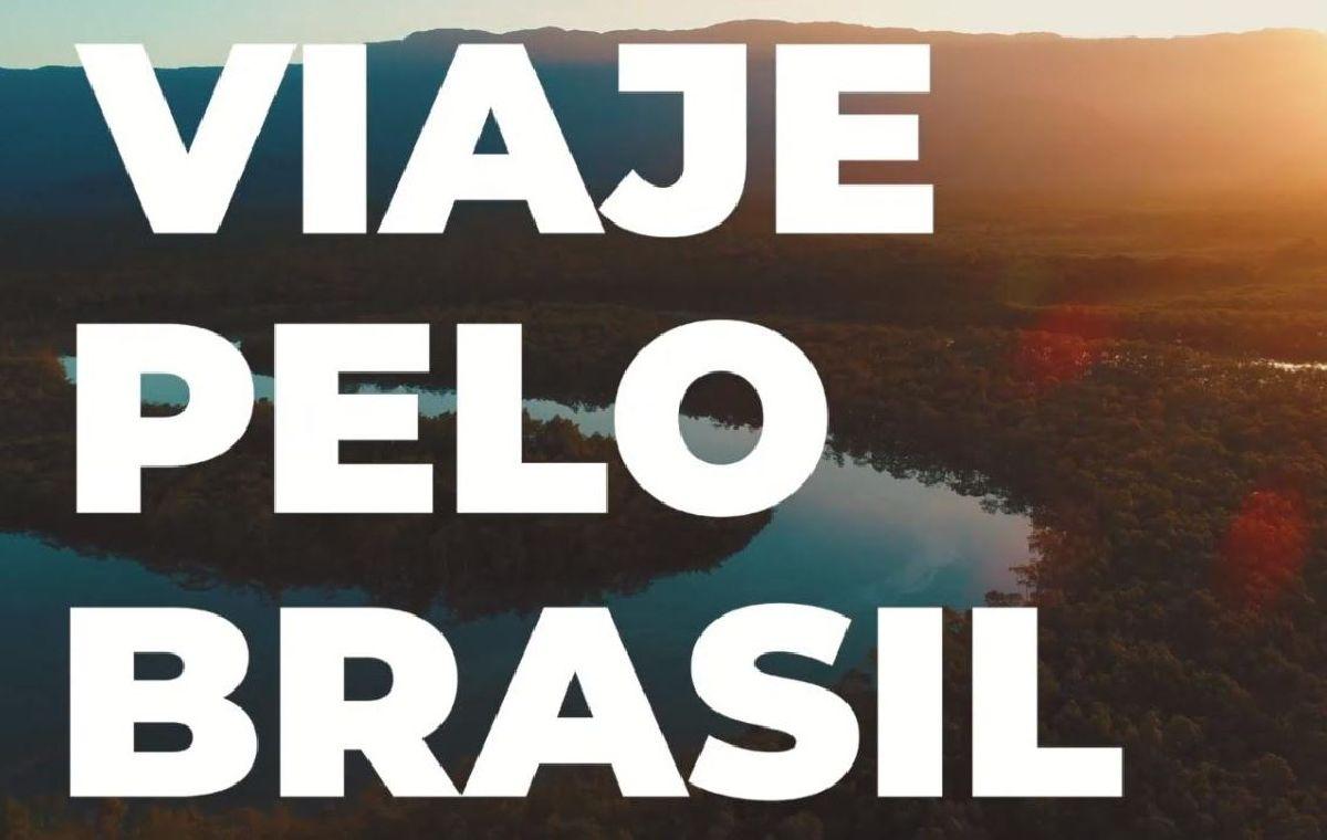 CAMPANHA #VIAJEPELOBRASIL CONVIDA PÚBICO PARA VALORIZAR ATRATIVOS NACIONAIS