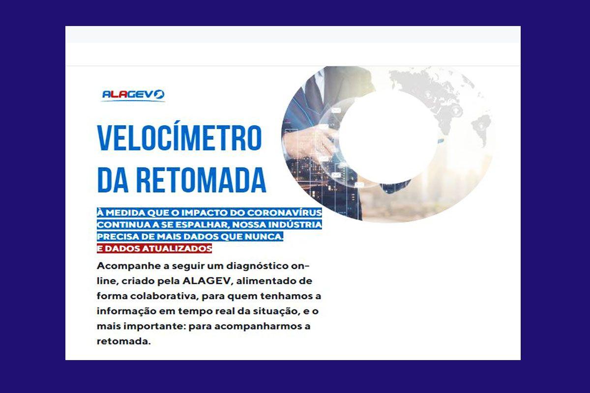 ALAGEV LANÇA AO MERCADO VELOCÍMETRO DA RETOMADA