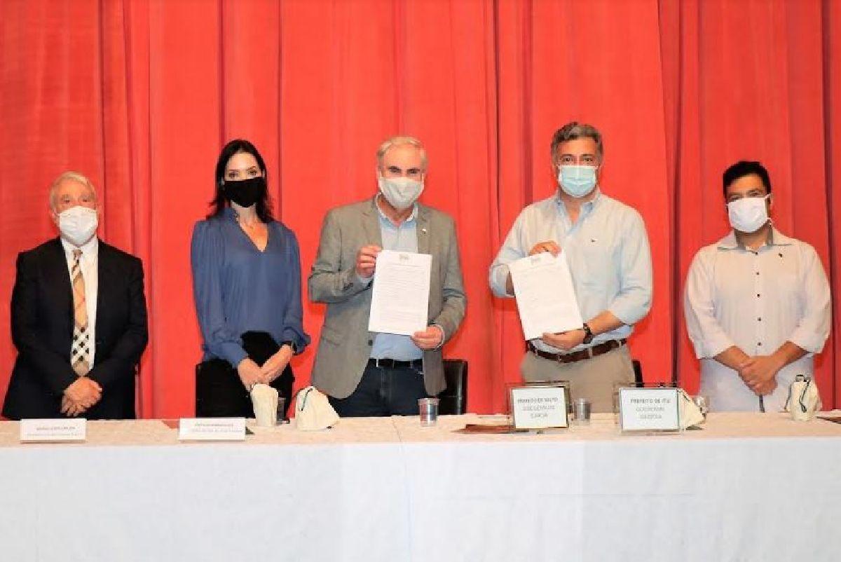 SERRA VERDE EXPRESS ASSINA CONTRATO COM PREFEITURAS DE SALTO E ITU, NO INTERIOR DE SÃO PAULO, PARA OPERAR TREM REPUBLICANO