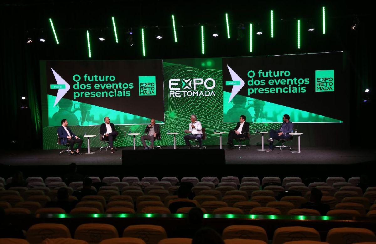 EXPO RETOMADA ABORDA FUTURO DOS EVENTOS PRESENCIAIS