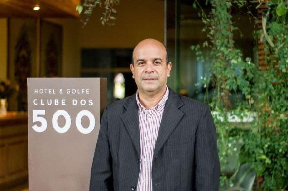 O HOTEL & GOLFE CLUB DOS 500, EM GUARATINGUETÁ, OPERADO PELA HOTELCARE, ACABA DE CONTRATAR RAUL MONTEIRO JUNIOR COMO GERENTE DE VENDAS
