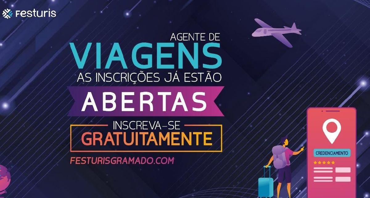 FESTURIS GRAMADO ABRE INSCRIÇÕES GRATUITAS PARA AGENTES DE VIAGENS