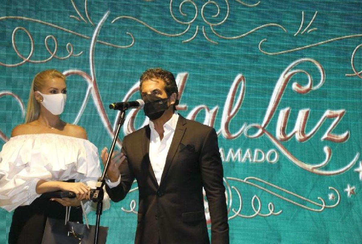 ALVARO GARNERO PRESTIGIA CERIMÔNIA DE ABERTURA DA 35ª EDIÇÃO DO NATAL LUZ DE GRAMADO