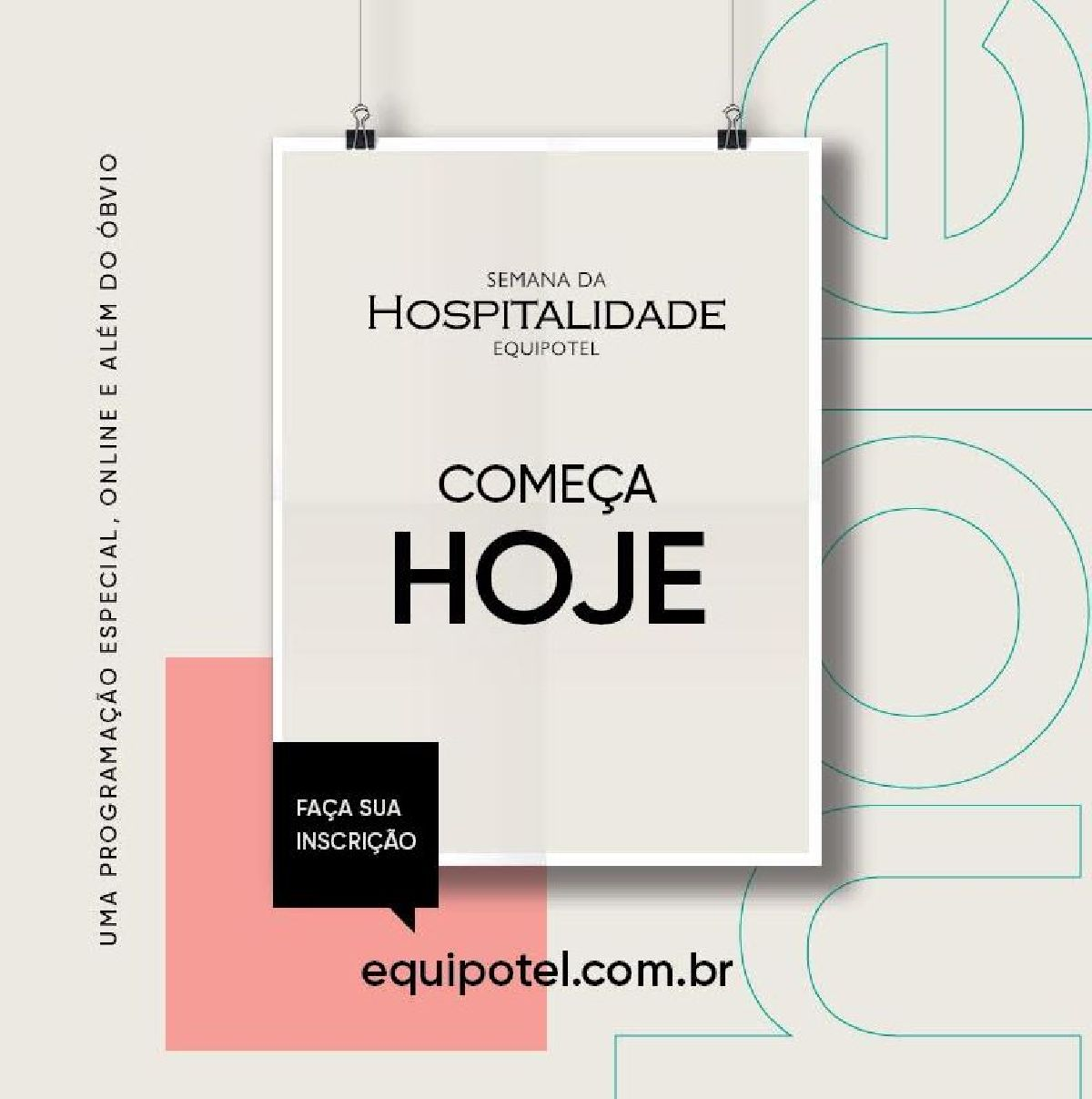 SEMANA DA HOSPITALIDADE EQUIPOTEL – 27 A 30 DE OUTUBRO DE 2020