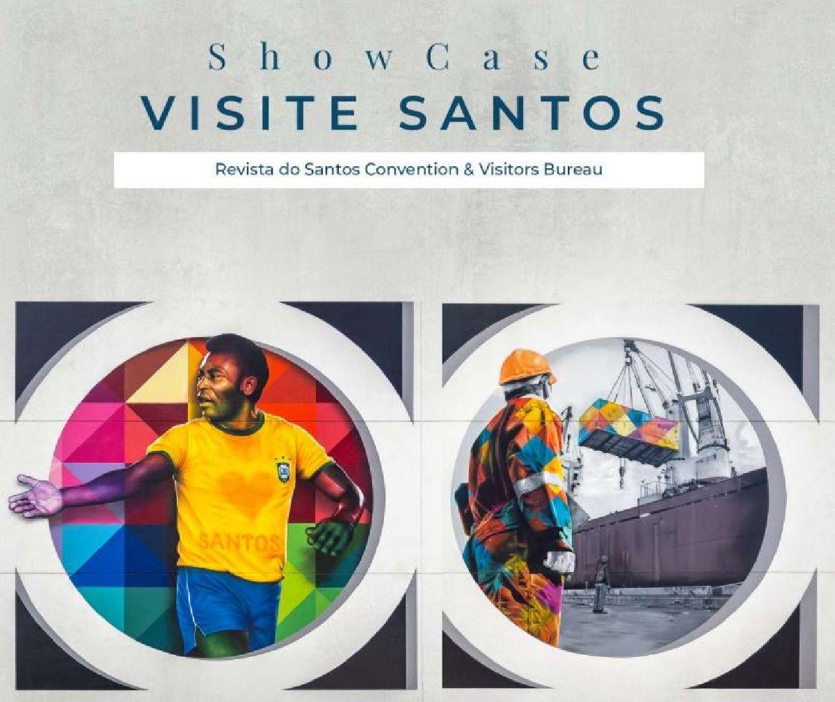 SANTOS BUREAU LANÇA SHOW CASE VISITE SANTOS 2020