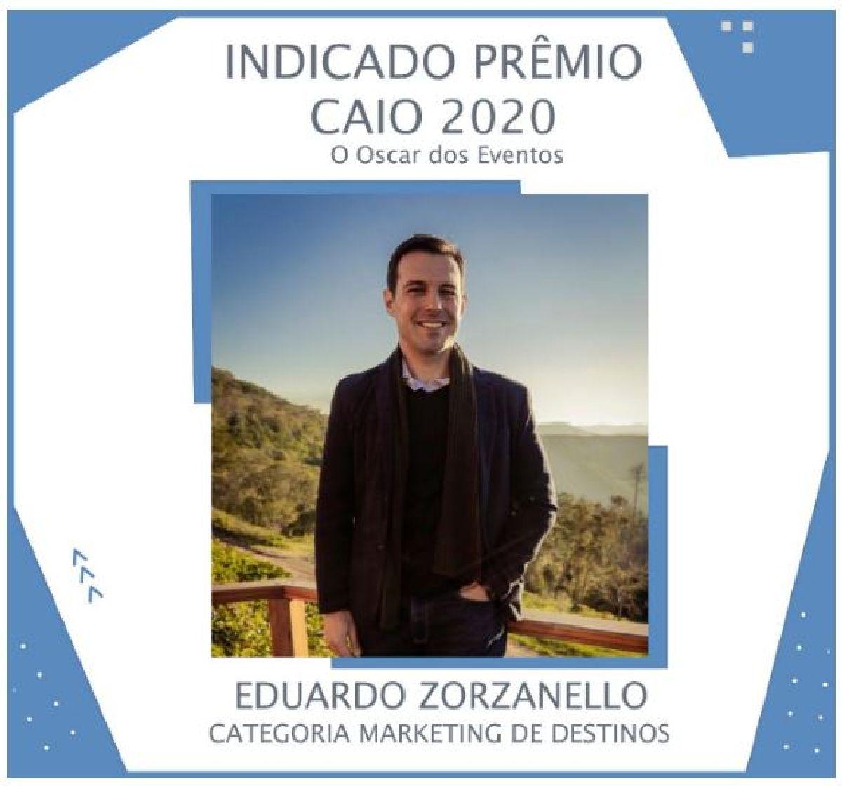 EDUARDO ZORZANELLO CONCORRE AO OSCAR DOS EVENTOS