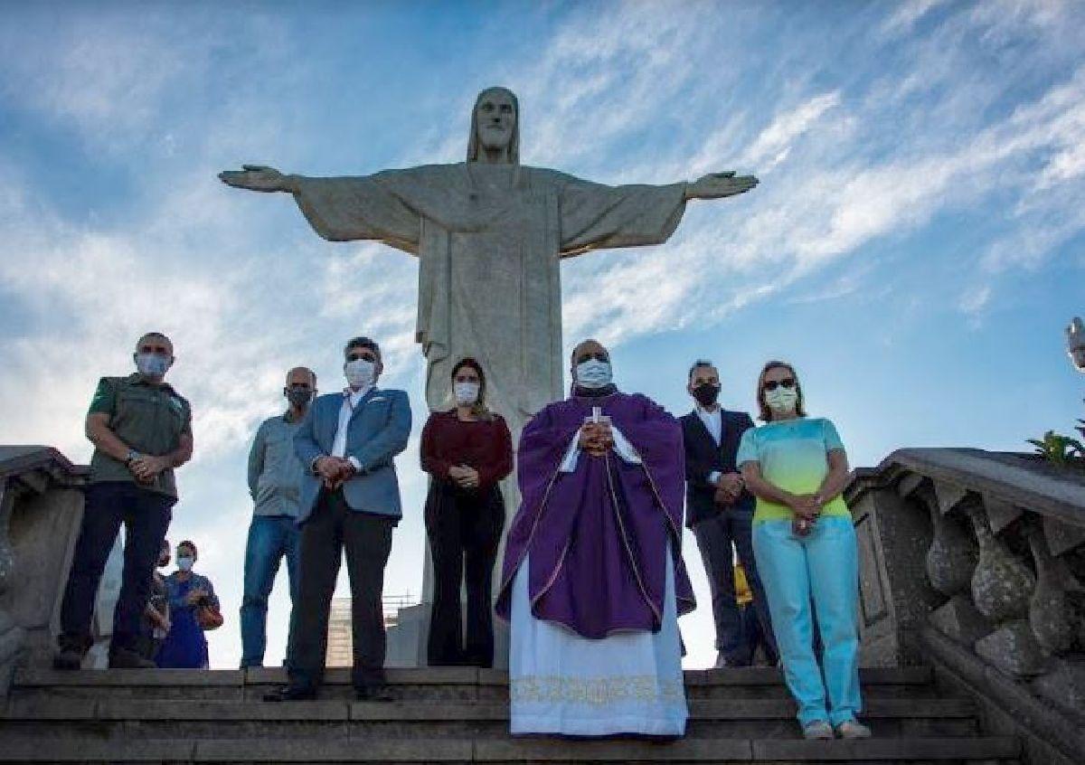 IPHAN E ARQUIDIOCESE VÃO IMPLEMENTAR VIA-SACRA NO CRISTO REDENTOR