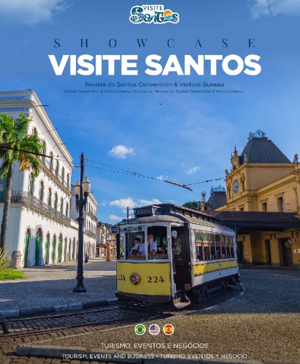 SANTOS CONVENTION & VISITORS BUREAU LANÇA SHOWCASE NA AVIESP E EBS 2021