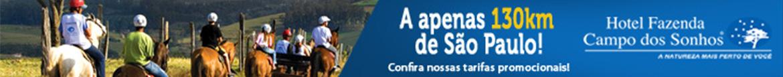 HOTEL FAZENDA CAMPO DOS SONHOS - FULL HOSPEDAGEM - CIDADE - SOCORRO | SP