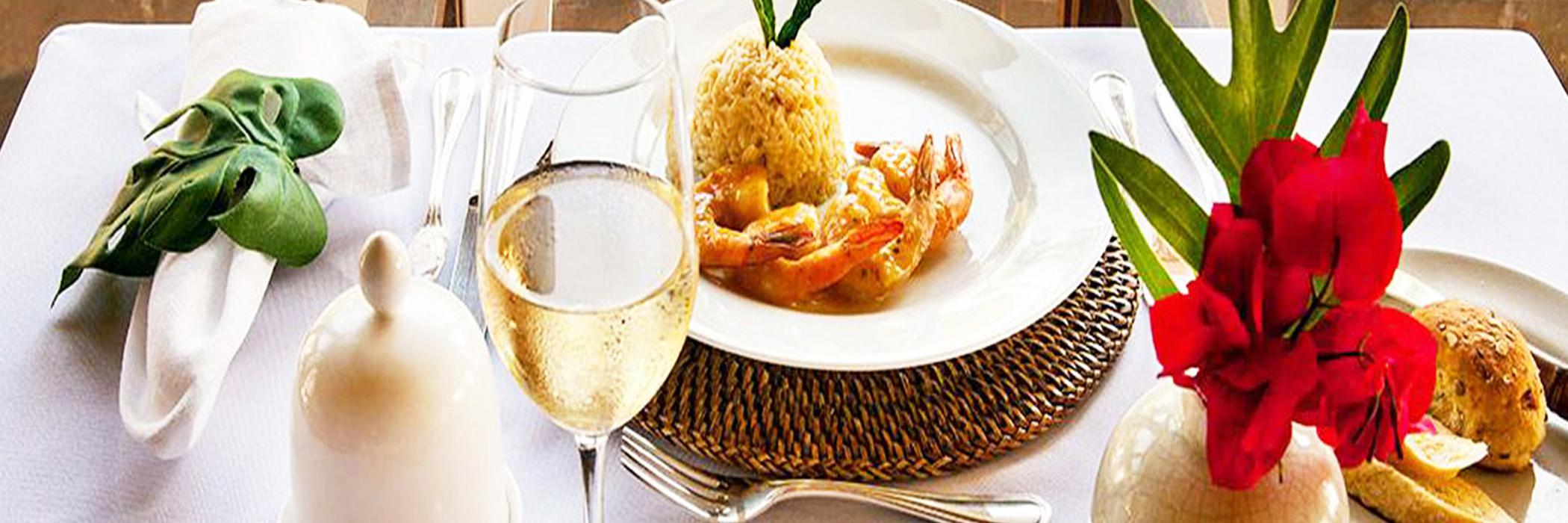 GASTRONOMIA DESTINO DO CHARME No Destino do Charme você encontra o requinte da gastronomia