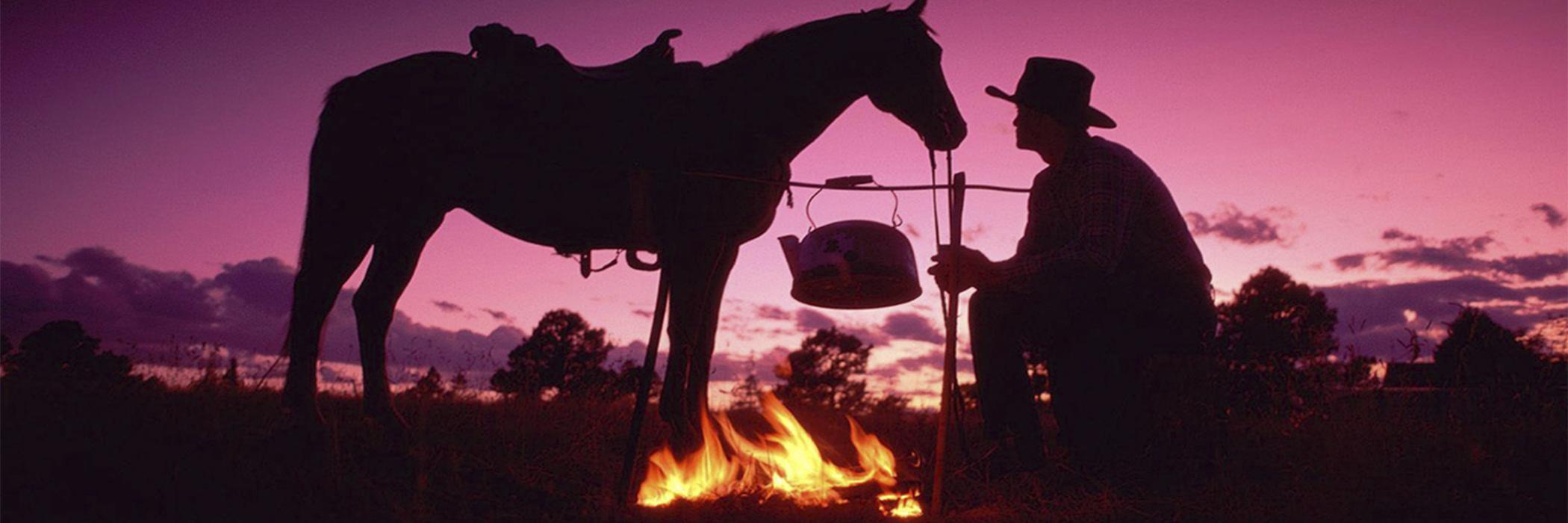 aHOME ROTEIRO DA SERRA GAUCHA - RS - Homem com o cavalo