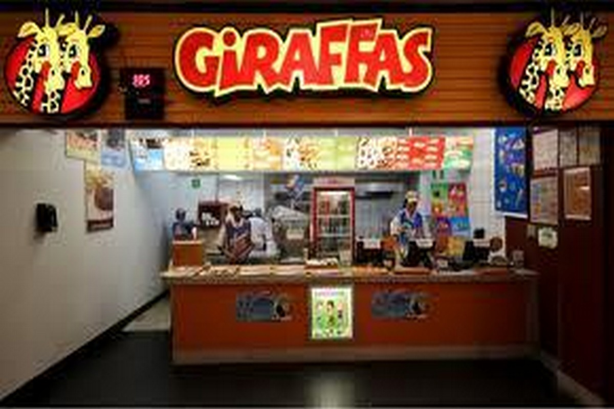Lanchonete Giraffas Fast Food