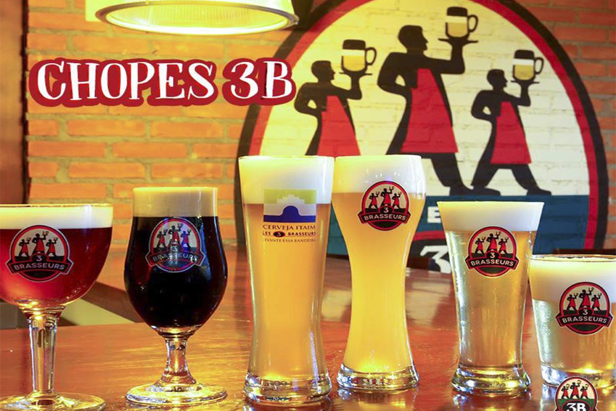 Les 3 Brasseurs Brasil Cervejaria