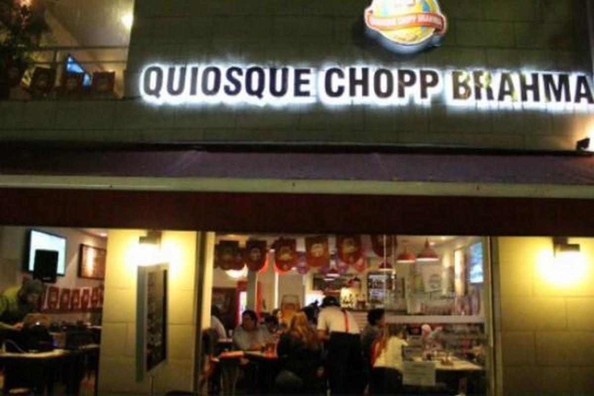 Quiosque Chopp Brahma Bar