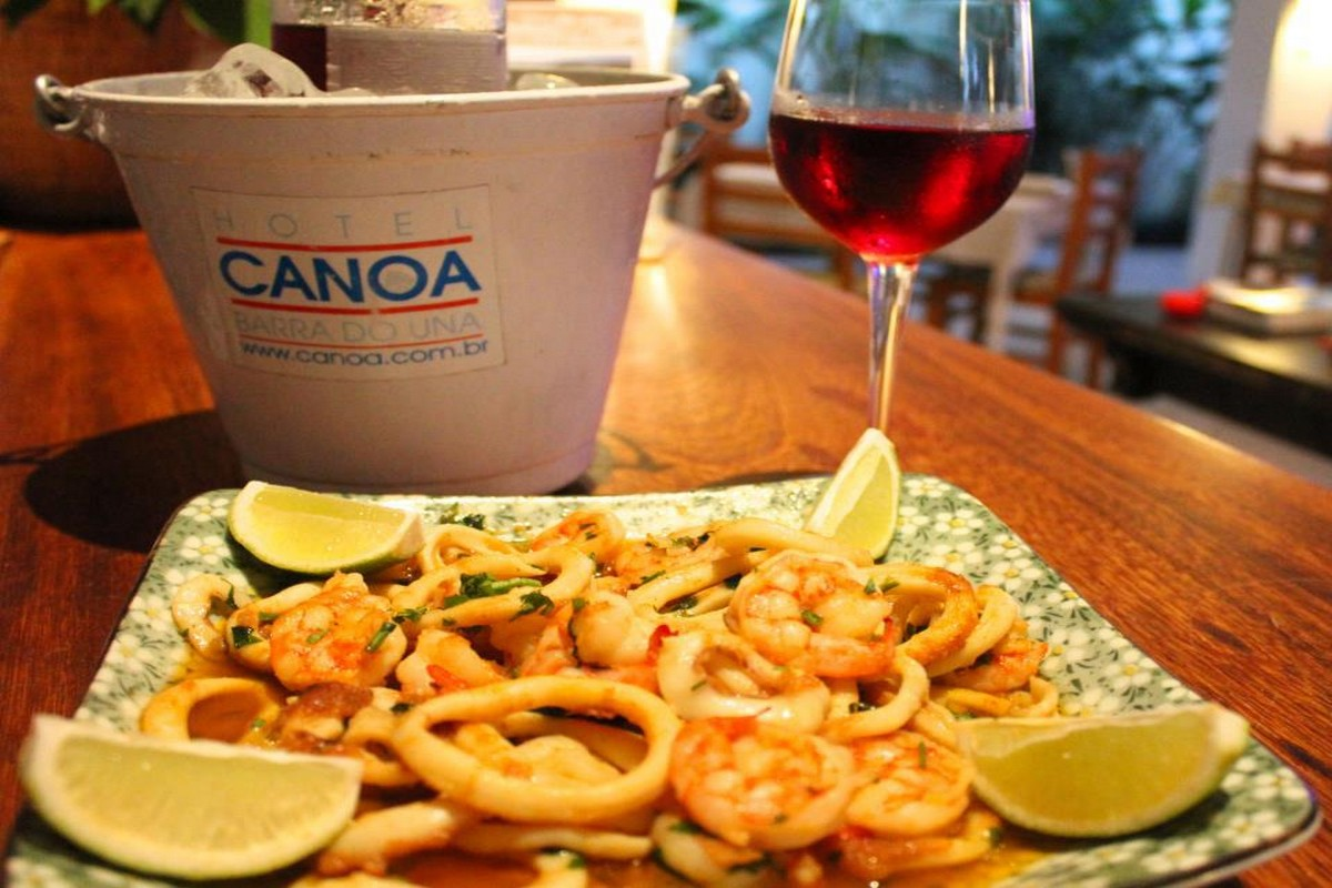 Restaurante Canoa Barra do Una