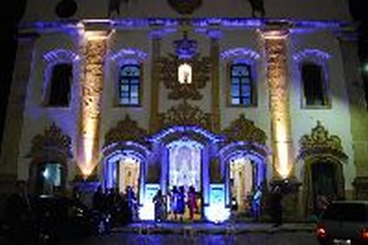 FOTO ACERVO - Fernando Borges - Iluminação Igreja São Gonçalo