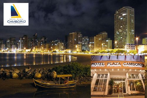 HOTEL PLAZA CAMBORIÚ É O MELHOR LUGAR PARA NEGÓCIOS E LAZER, NA BADALADA PRAIA DE BALNEÁRIO CAMBORIÚ/SC