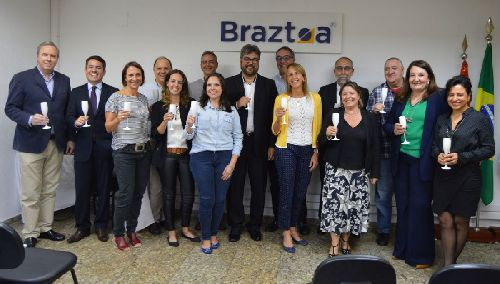ROBERTO HARO NEDELCIU É O NOVO PRESIDENTE DA BRAZTOA