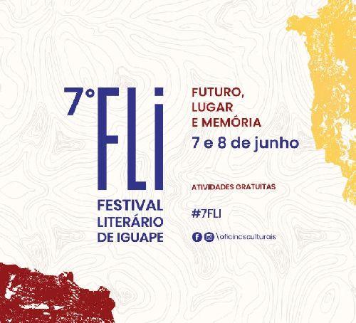 MAIS UMA EDIÇÃO DO FESTIVAL LITERÁRIO DE IGUAPE/SP