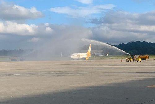 CONFIRA COMO FOI A INAUGURAÇÃO DAS OPERAÇÕES DA FLYBONDI NO AEROPORTO INTERNACIONAL DE SÃO PAULO, EM GUARULHOS