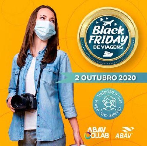 ABAV PROMOVE OFERTAS E TURISMO RESPONSÁVEL EM BLACK FRIDAY DE VIAGENS DIA 2 DE OUTUBRO