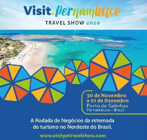 VISIT.PERNAMBUCO: EVENTO DO SETOR DE TURISMO DEVE GERAR MAIS DE R$ 26 MILHÕES EM NEGÓCIOS PARA 2021