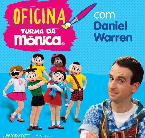 MAURICIO DE SOUSA E DANIEL WARREN LANÇAM OFICINA DE ARTE ON-LINE PARA ESCOLAS